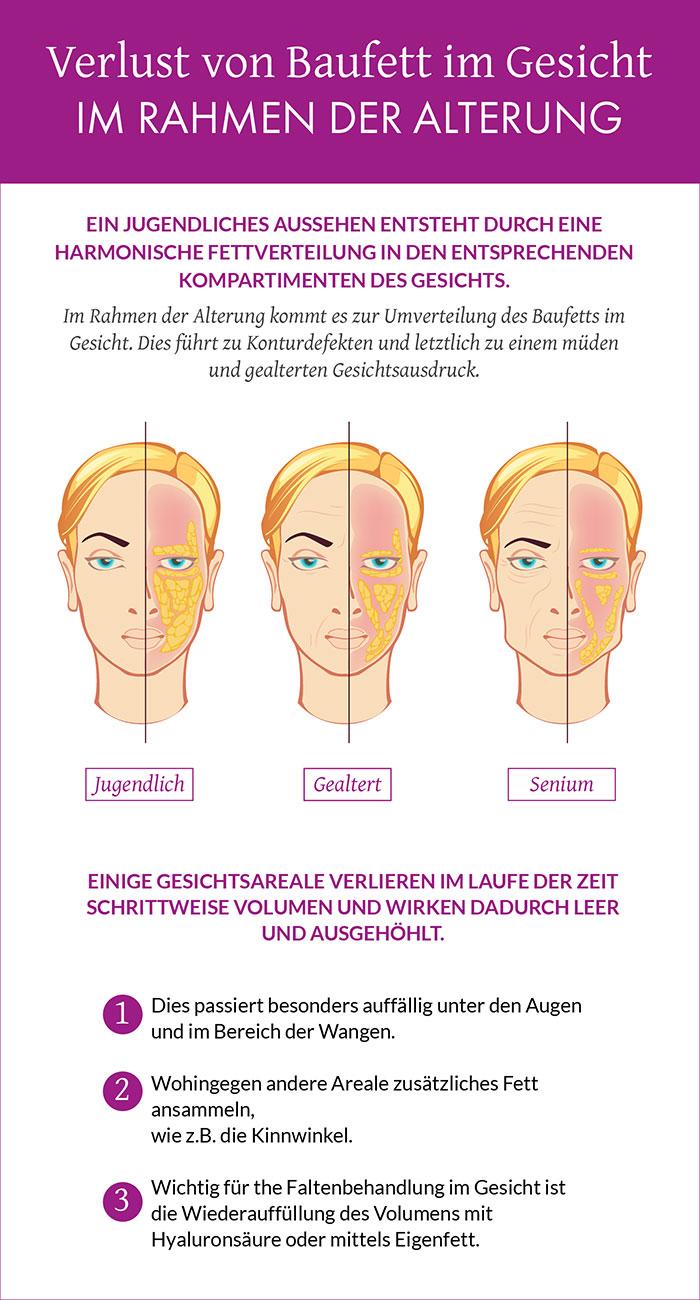 Eigenfetttransfer zum Gesicht Hamburg   Dr. Dalia Sattler
